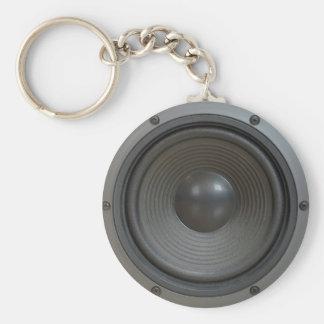 Loudspeaker boxes keychain