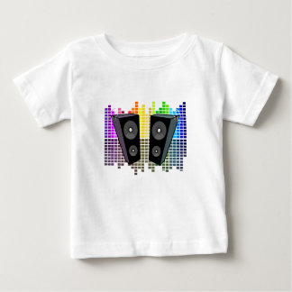 Loudspeakers - transparen baby T-Shirt