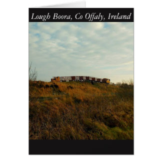 Lough Boora, Offaly, Ireland Card