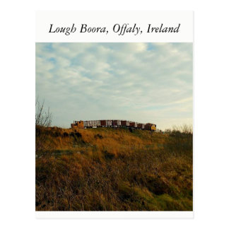 Lough Boora, Offaly, Ireland Postcard