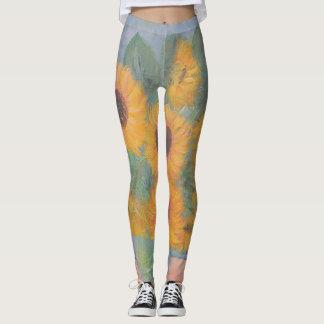 Loughlin Sunflower Painting Leggings