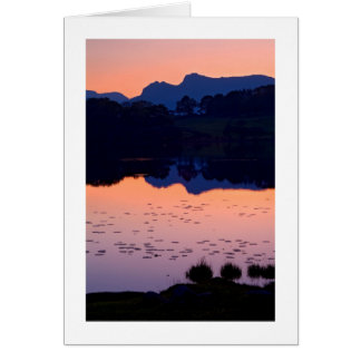 Loughrigg Tarn - The Lake District Card