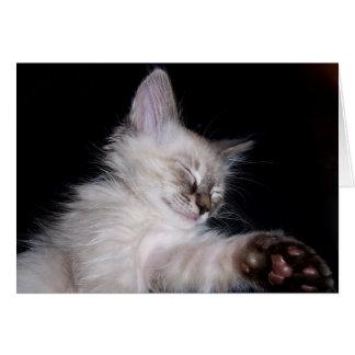 Louie's Sleepy Slumber Smile Card