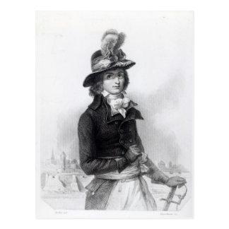 Louis Antoine de Saint-Just Postcard