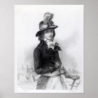 Louis Antoine de Saint-Just Poster