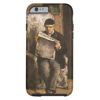 Louis Auguste Cezanne Father Of The Artist Reading Tough iPhone 6 Case