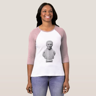 Louis Braille Portrait Bust T-Shirt