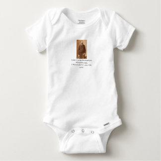 Louis Charles Bonaventure Alfred Bruneau Baby Onesie