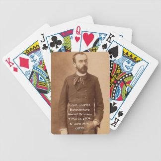 Louis Charles Bonaventure Alfred Bruneau Bicycle Playing Cards