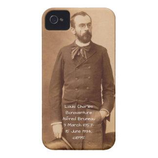 Louis Charles Bonaventure Alfred Bruneau Case-Mate iPhone 4 Case