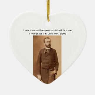 Louis Charles Bonaventure Alfred Bruneau Ceramic Ornament