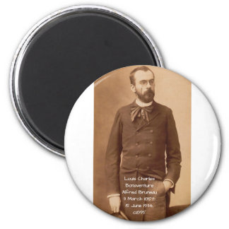 Louis Charles Bonaventure Alfred Bruneau Magnet