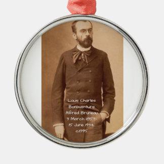 Louis Charles Bonaventure Alfred Bruneau Metal Ornament