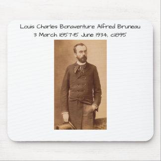 Louis Charles Bonaventure Alfred Bruneau Mouse Pad