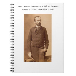 Louis Charles Bonaventure Alfred Bruneau Notebook