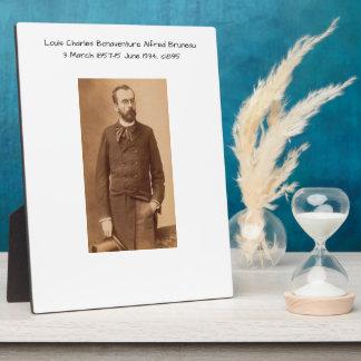 Louis Charles Bonaventure Alfred Bruneau Plaque