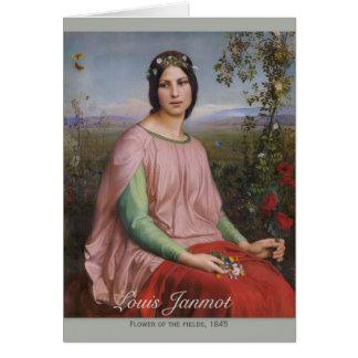 Louis Janmot Flower of the fields CC0916 Fine art Card
