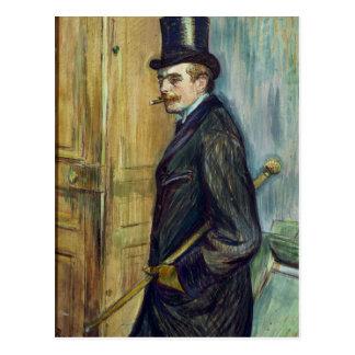 Louis Pascal, 1891 Postcard