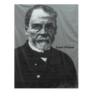 Louis Pasteur, Dolle, France - Postcard