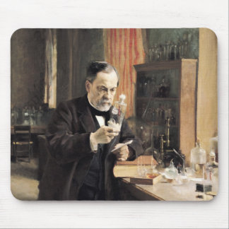 Louis Pasteur  in his Laboratory, 1885 Mouse Pad