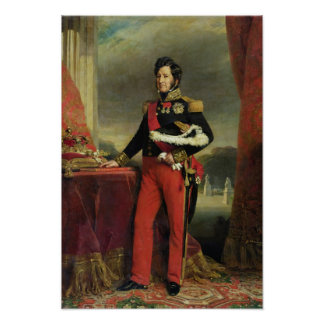 Louis-Philippe I , King of France Poster