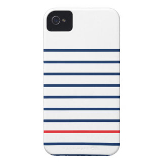 Louis Stripes Iphonecase (Barely There Case) Case-Mate iPhone 4 Case