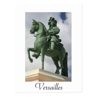Louis the XIV Postcard