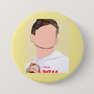 Louis Tomlinson 3 Inch Round Button