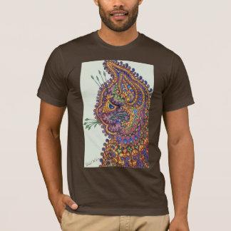 Louis Wain Fantasy Wallpaper T-Shirt