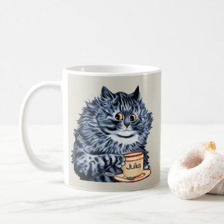 Louis Wain Teacup Cat Art Coffee Mug
