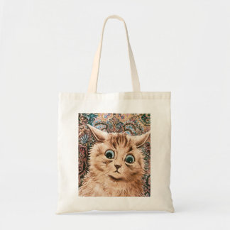 Louis Wain Wallpaper Cat Tote
