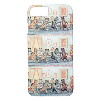 Louis Wain's Cat Musical Chairs iPhone 7 Case
