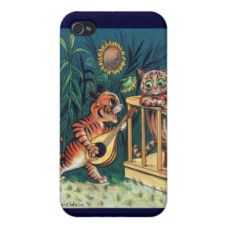 Louis Wain's Valentine Serenade Case For The iPhone 4
