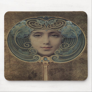 Louis Welden Hawkins Art Nouveau Mousepad
