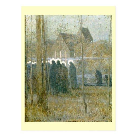 Louis Welden Hawkins, Procession of Souls Postcard