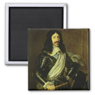 Louis XIII (1601-43) (oil on canvas) Magnet