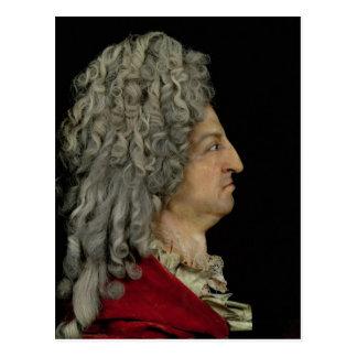 Louis XIV  1706 Postcard