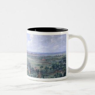 Louis XIV  at the Siege of Lille facing the Two-Tone Coffee Mug