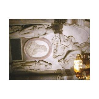Louis XIV Basilica St Denis 60.96x45.72cm, 3.81cm Canvas Print