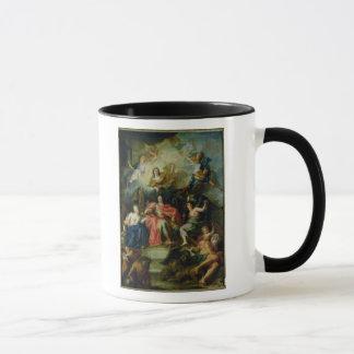 Louis XIV  Crowned by Glory, c.1686 Mug