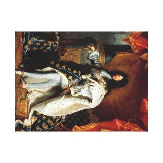 Louis XIV in costume of sacre60.96x45.72cm, 3.81cm Canvas Print