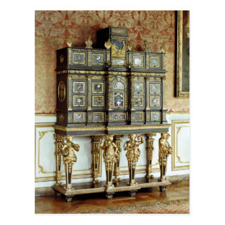 Louis XIV jewellery cabinet, Gobelins Workshop Postcard