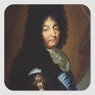 Louis XIV Square Sticker