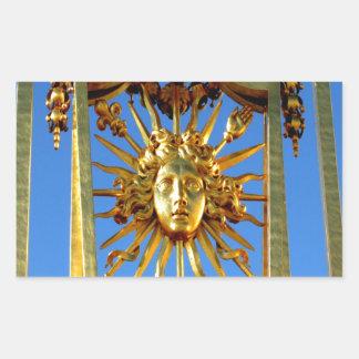 louis xiv sun king sticker