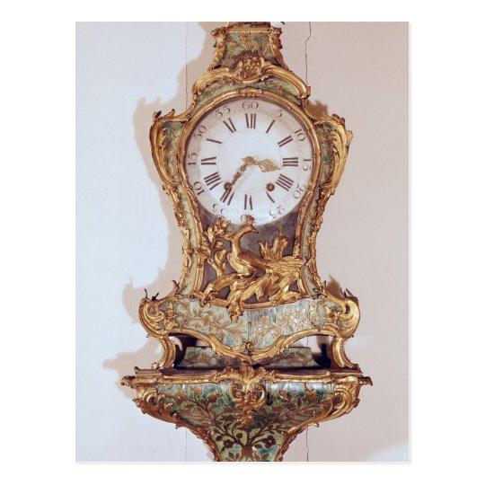 Louis XV style cartel clock Postcard