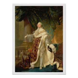 Louis XVI (1754-93) (oil on canvas) Poster