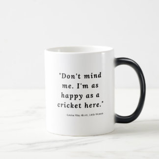 Louisa May Alcott, Little Women Quote #4 Magic Mug