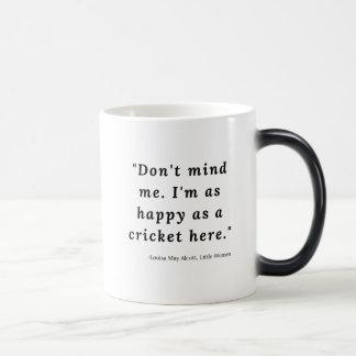 Louisa May Alcott, Little Women Quote #4 Magic Mug