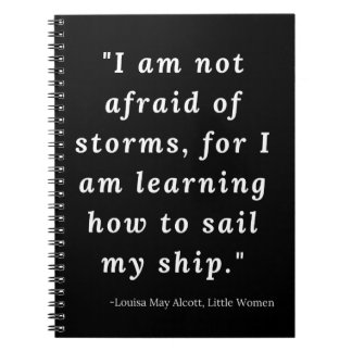 Louisa May Alcott, Little Women Quote Notebook