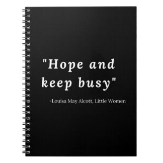 Louisa May Alcott, Little Women Quote Notebooks